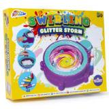 Swirling Glitter Storm