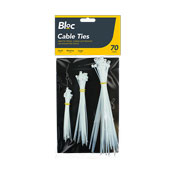 70 Pack Cable Ties