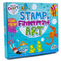 Stamp And Fingerpaint Art