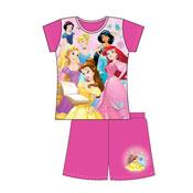 Official Older Girls Disney Princess Shortie Pyjamas