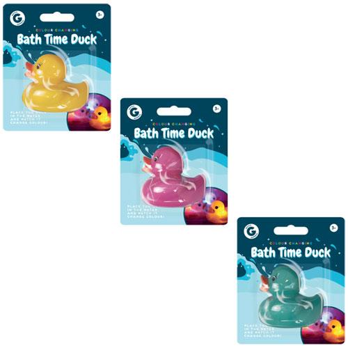 Colour Changing Bath Duck