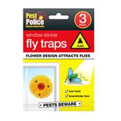 Window Sticker Fly Traps 3 Pack