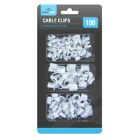 Cable Clips 100 Pack