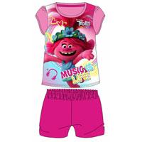 Official Girls Trolls Music Shortie Pyjamas