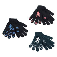 Boys Football Magic Gripper Gloves