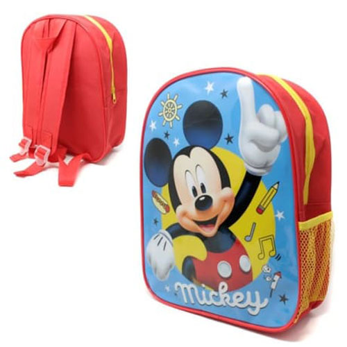 Official Mickey Mouse 31cm Junior Backpack