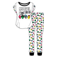Ladies Official Marvel Comics Pyjamas