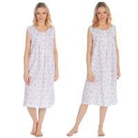 Ladies Woven Sleeveless Nightdress
