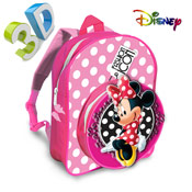 Disney Minnie Mouse Backpacks 3D 'Fashion Icon'