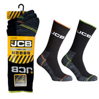 JCB 3 Pack Mens High Vis Boot Sock