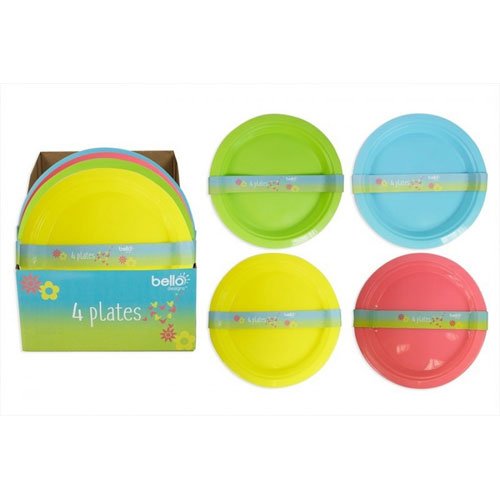 Picnic Plates Assorted Colours