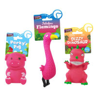 Assorted Vinyl Squeaky Dog Toys