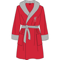 Official Mens Liverpool Fleece Dressing Gowns