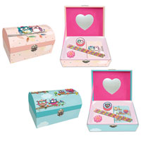Owl Jewellery And Stationery Box