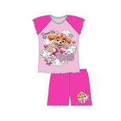 Girls Toddler Paw Patrol Be Happy Shortie Pyjamas