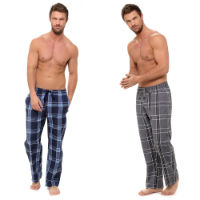 Mens Checked Bottoms