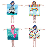 Poncho Pals Hooded Beach and Bath Robes