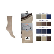 4-6 Lycra Socks Fashion Colours