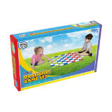 Giant Draughts Board Game Set