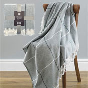 Contemporary Mirano Design Acrylic Throw