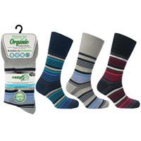 Mens Wellness Organic Cotton Socks Madrid
