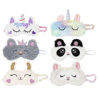 Novelty Plush Eye Masks