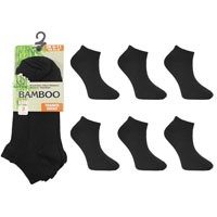 Mens Bamboo Trainer Socks