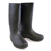 Mens Pvc Wellies Black