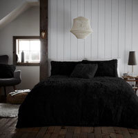 Hug And Snug Duvet Set Black