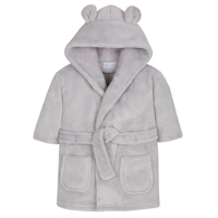 Baby Elephant Robe Grey