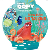 Finding Dory Stickers by Shapes