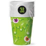 Slime Disposable Party Cups