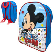 Mickey Mouse Bundles Of Fun Junior Backpack