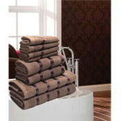 Luxurious Egyptian Mocha 8 Piece Towel Bale