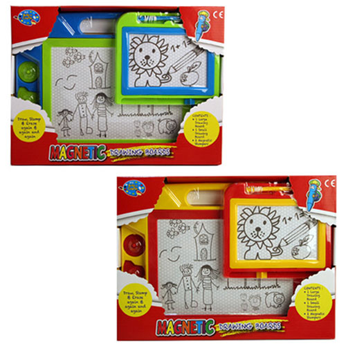 Magic Drawing Boards With Stylus & Shapes Set