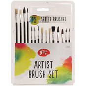 Bristle Artist Paint Brushes Set