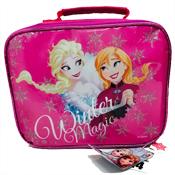 3 Piece Disney Frozen Winter Magic Lunch Bag Set