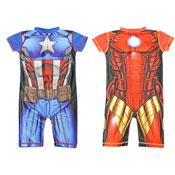 Boys Marvel Character Swim Suit