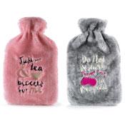 Knitted Hot Water Bottle Tea/Duvet Day