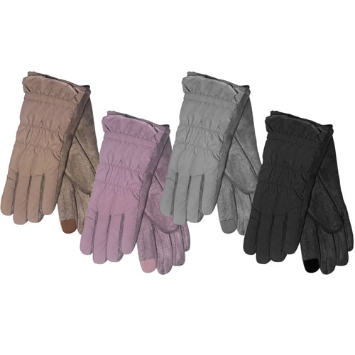 Ladies Winter Gloves With Mole Skin