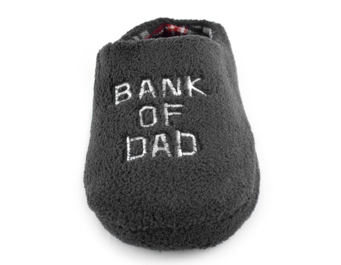 Mens Bank Of Dad Mule Slippers