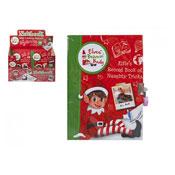 Christmas Elf Naughty Tricks Lock Up Diary