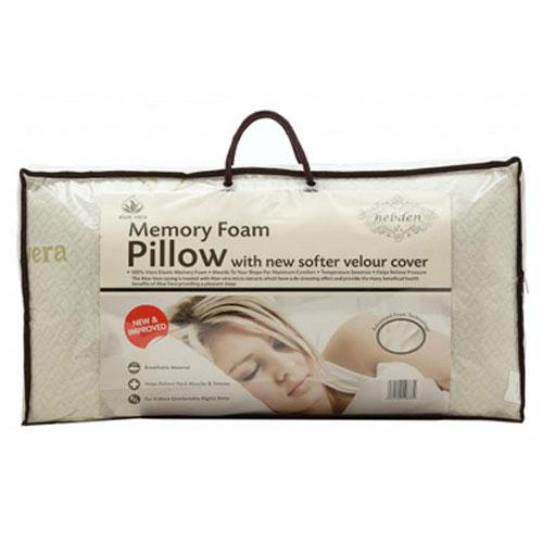 Memory Foam Pillow With Aloe Vera