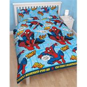 Marvel Ultimate SpiderMan 'Thwipp' Double Duvet Set