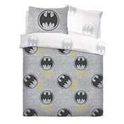Official Batman Grey Reversible Duvet Set