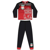 Official Boys Older Liverpool FC Emblem Pyjamas