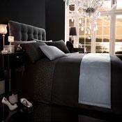 5 Piece Bed in a Bag Set Diamante Black