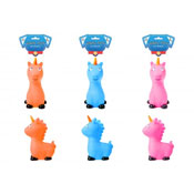 Squeaky Unicorn Dog Toy 3 Assorted