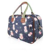 Blossom Flower Weekend Bag Navy