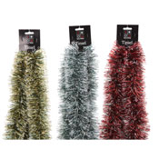 Christmas Decorative Coloured Tinsel